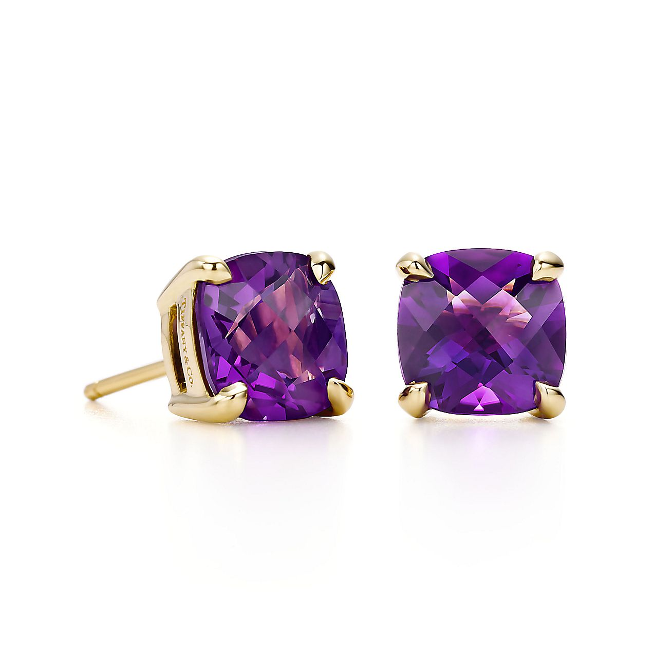 Tiffany Sparklers<br>Amethyst earrings