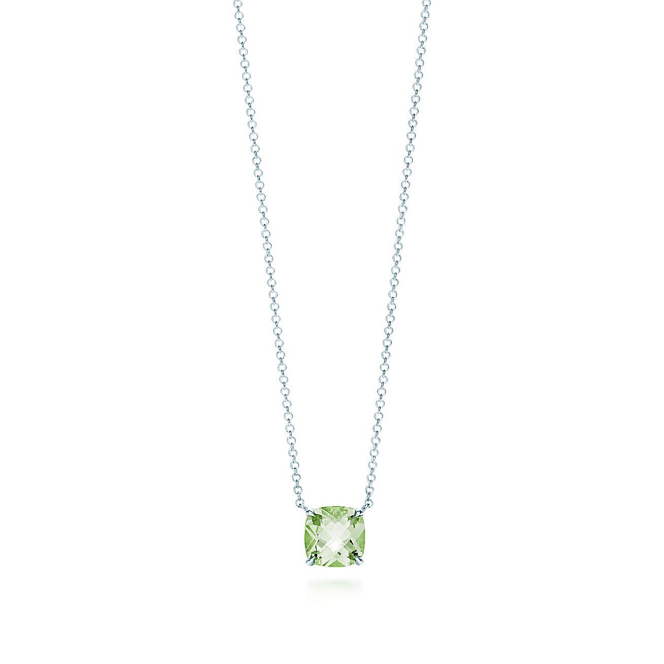 Tiffany Sparklers<br> Green Quartz pendant