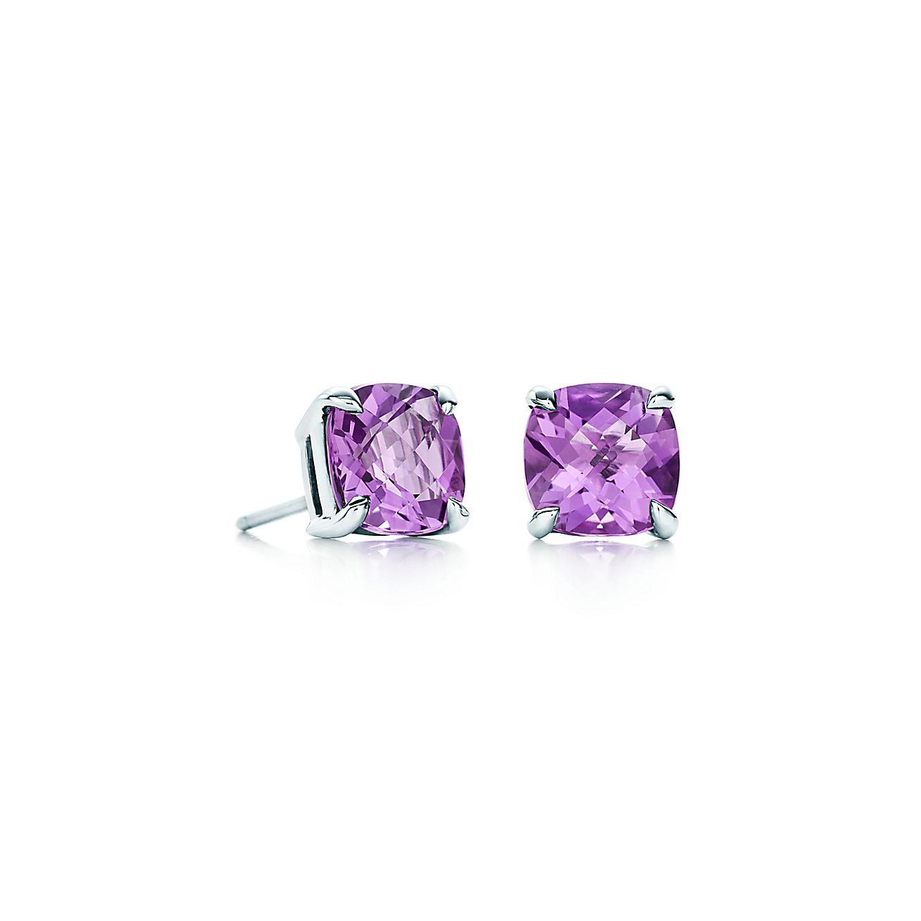 Tiffany Sparklers:Amethyst Earrings