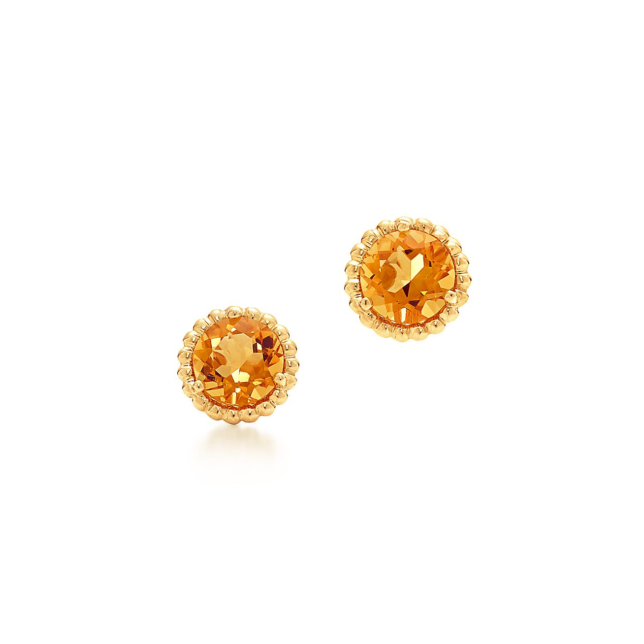Tiffany Sparklers:Citrine Earrings