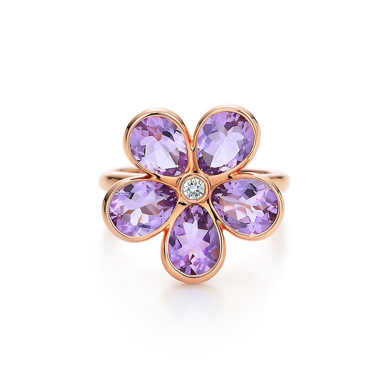 Tiffany Sparklers:Flower Ring