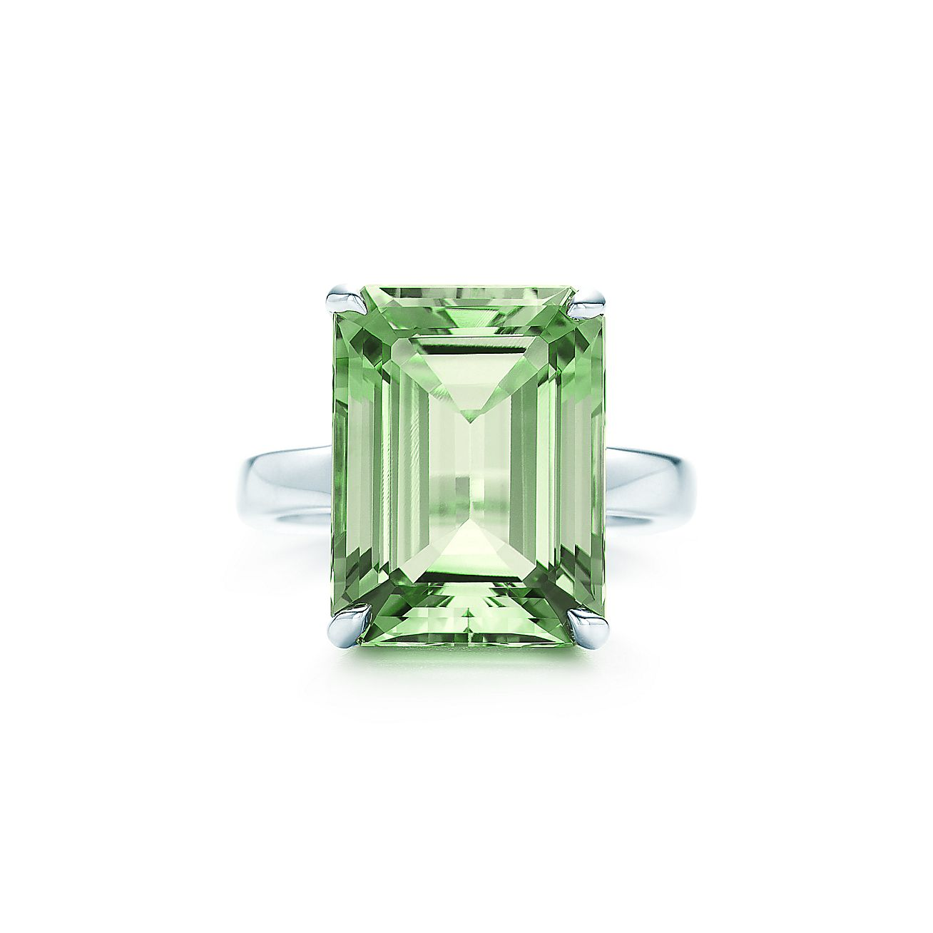 Tiffany Sparklers:Green Quartz<br>Cocktail Ring