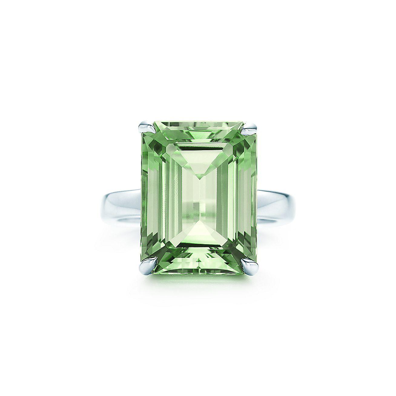 Tiffany Green Quartz Ring