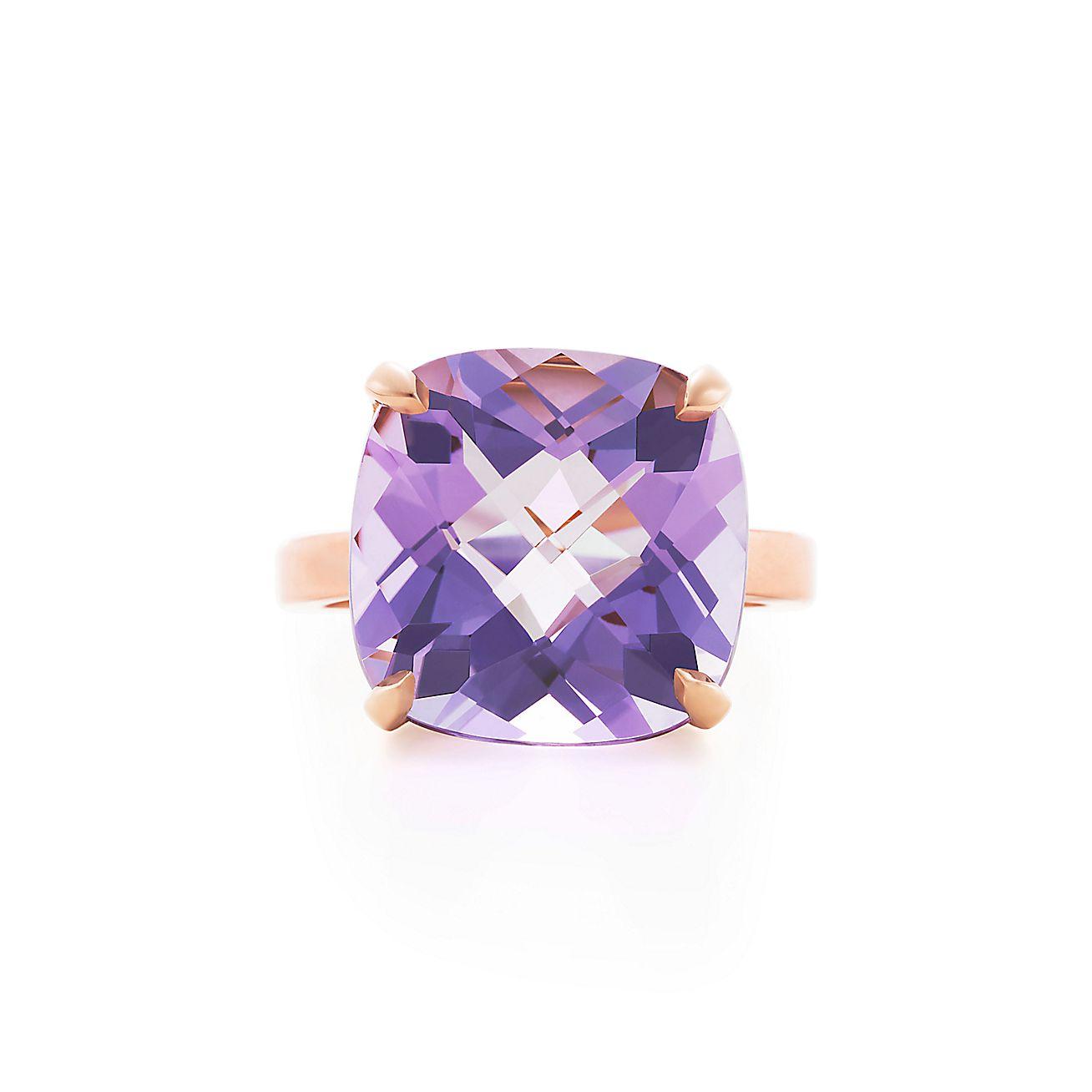 Tiffany Sparklers:Lavender Amethyst Ring