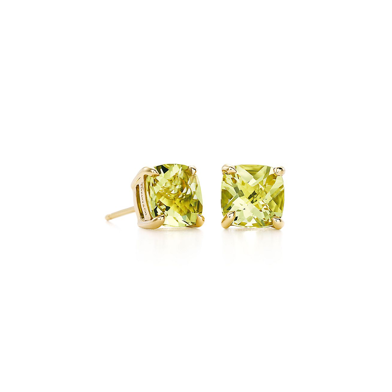Tiffany Sparklers:Yellow Citrine Earrings