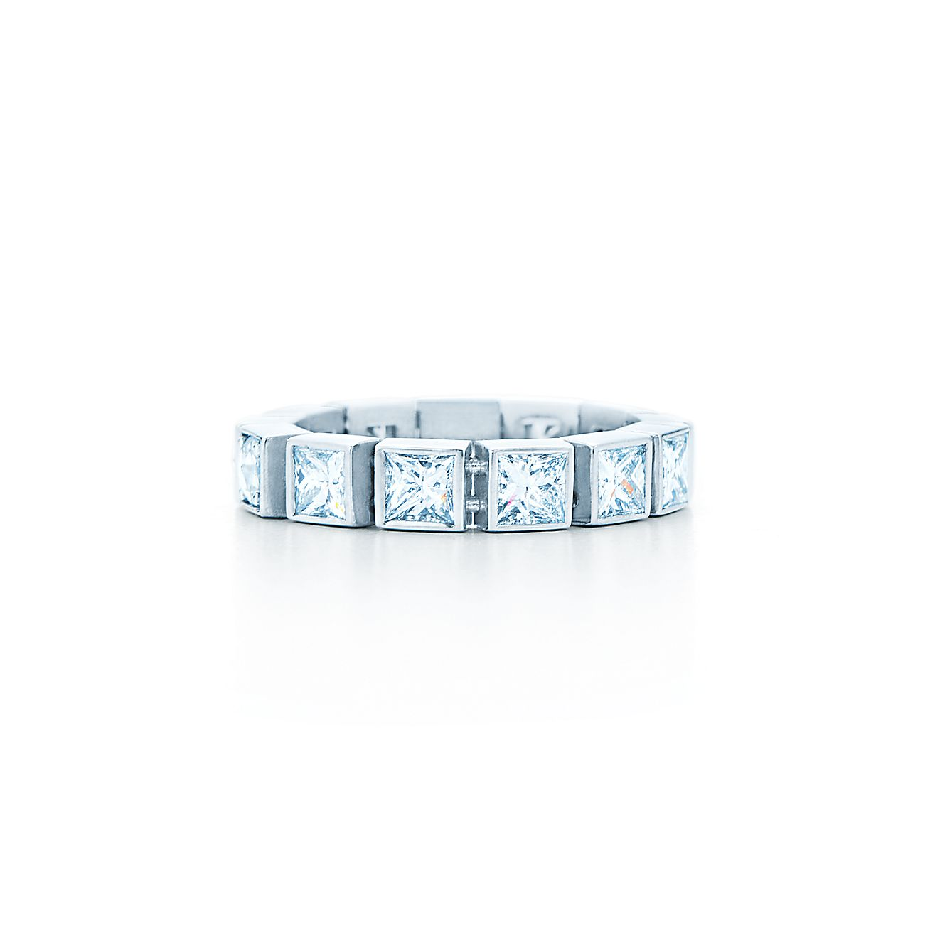 Tiffany T:Diamond Line Ring