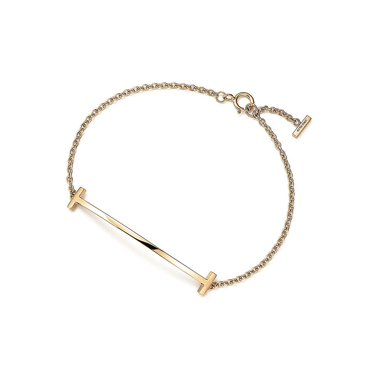 tiffany t smile bracelet in 18k gold medium tiffany co. Black Bedroom Furniture Sets. Home Design Ideas