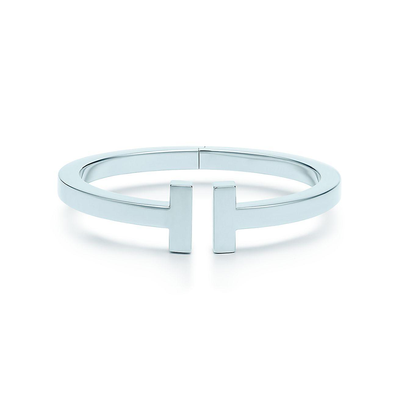 Tiffany T Square Armreif Aus Sterlingsilber Medium