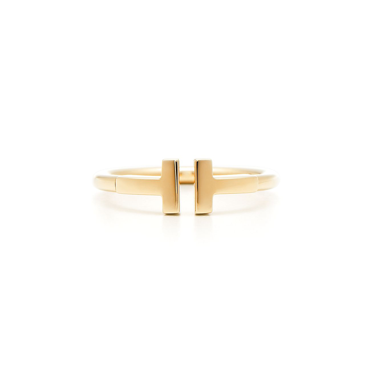 Tiffany T Wire Ring In 18k Gold Tiffany Amp Co