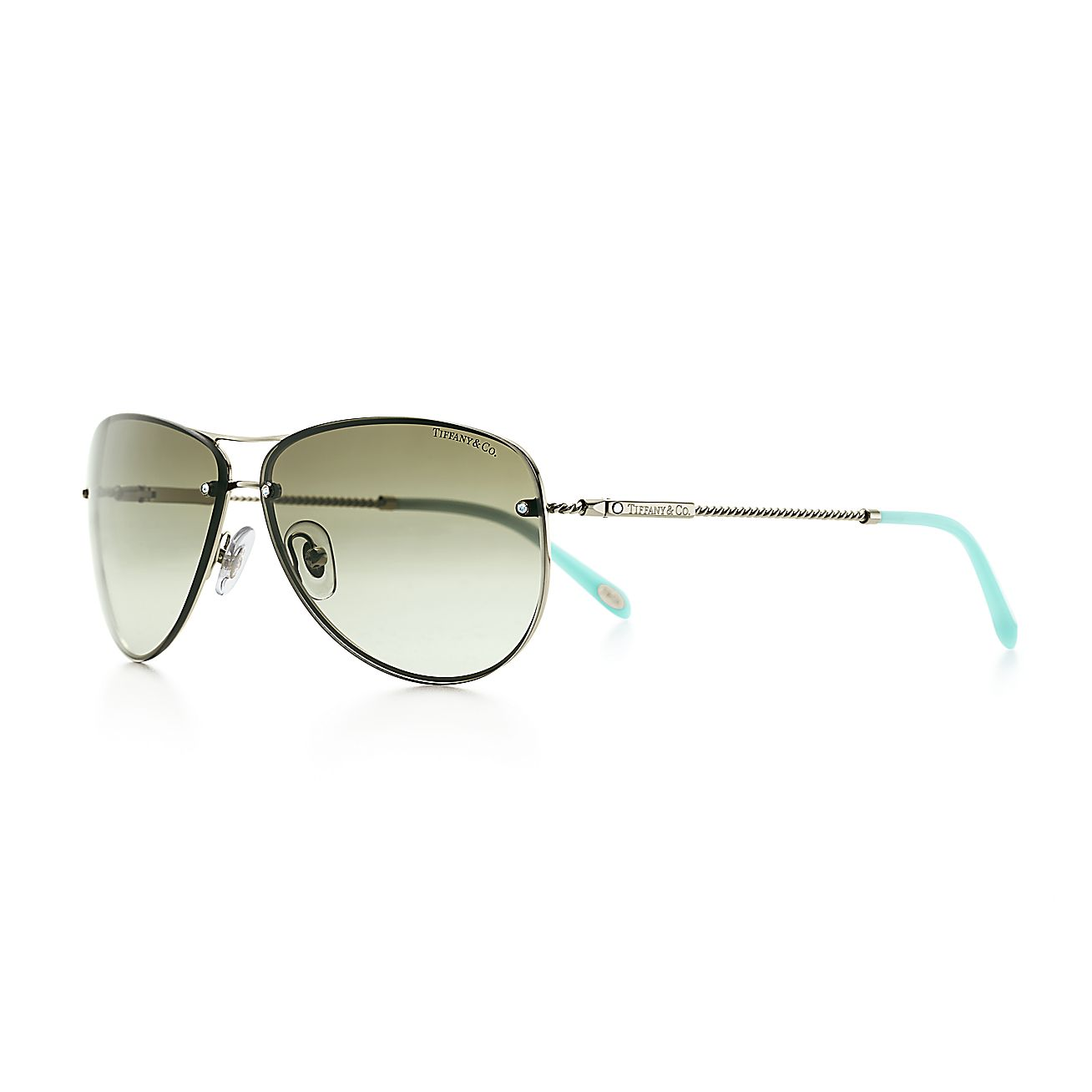 a63c3d1be813 Tiffany Twist Aviator Sunglasses In Tiffany Blue « Heritage Malta