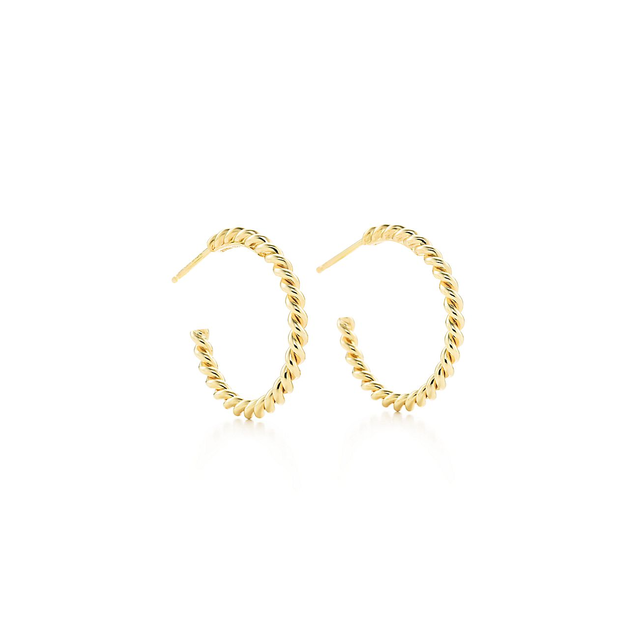 Tiffany Twist:Hoop Earrings