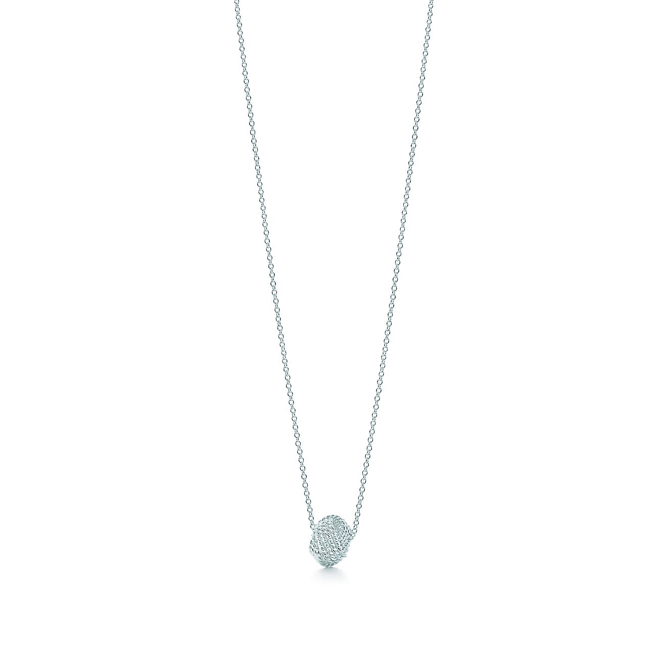 Tiffany twist knot pendant in sterling silver tiffany co audiocablefo light Images