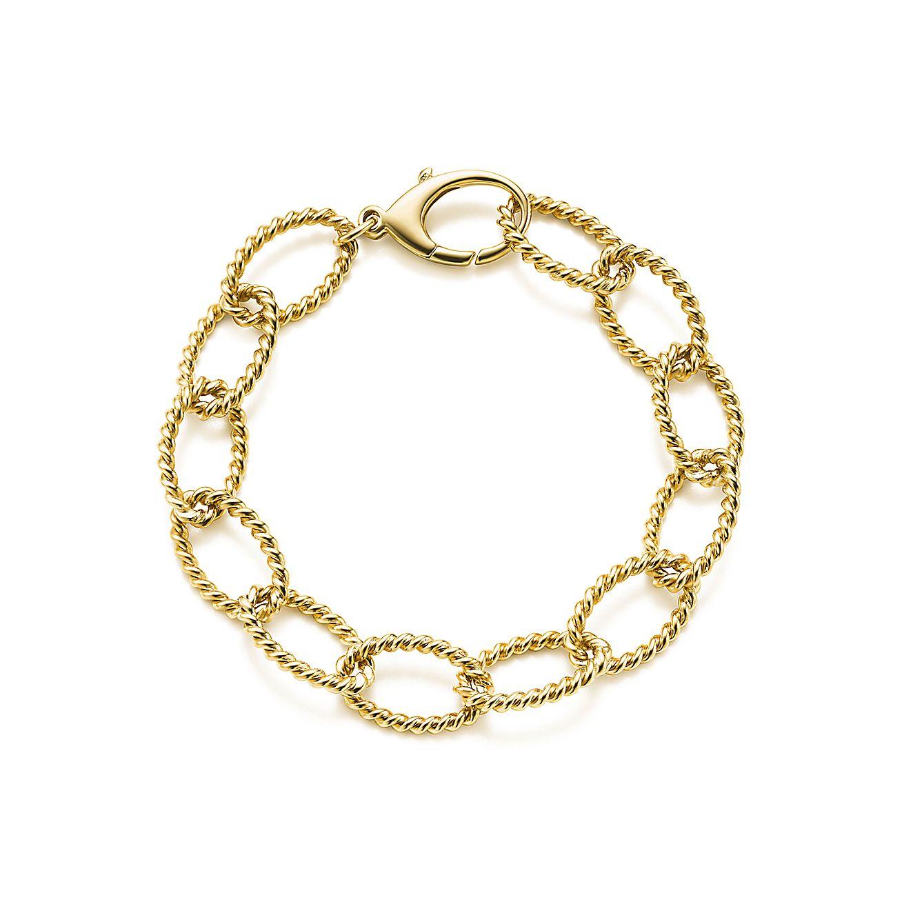 Tiffany Twist:Link Bracelet