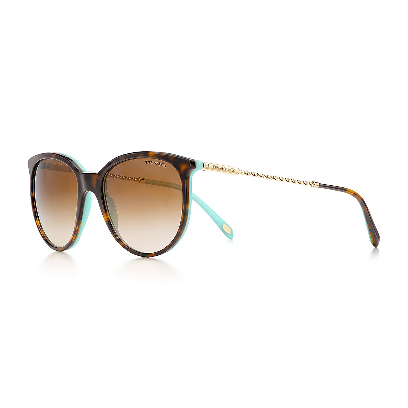 Tiffany Twist:Round Sunglasses