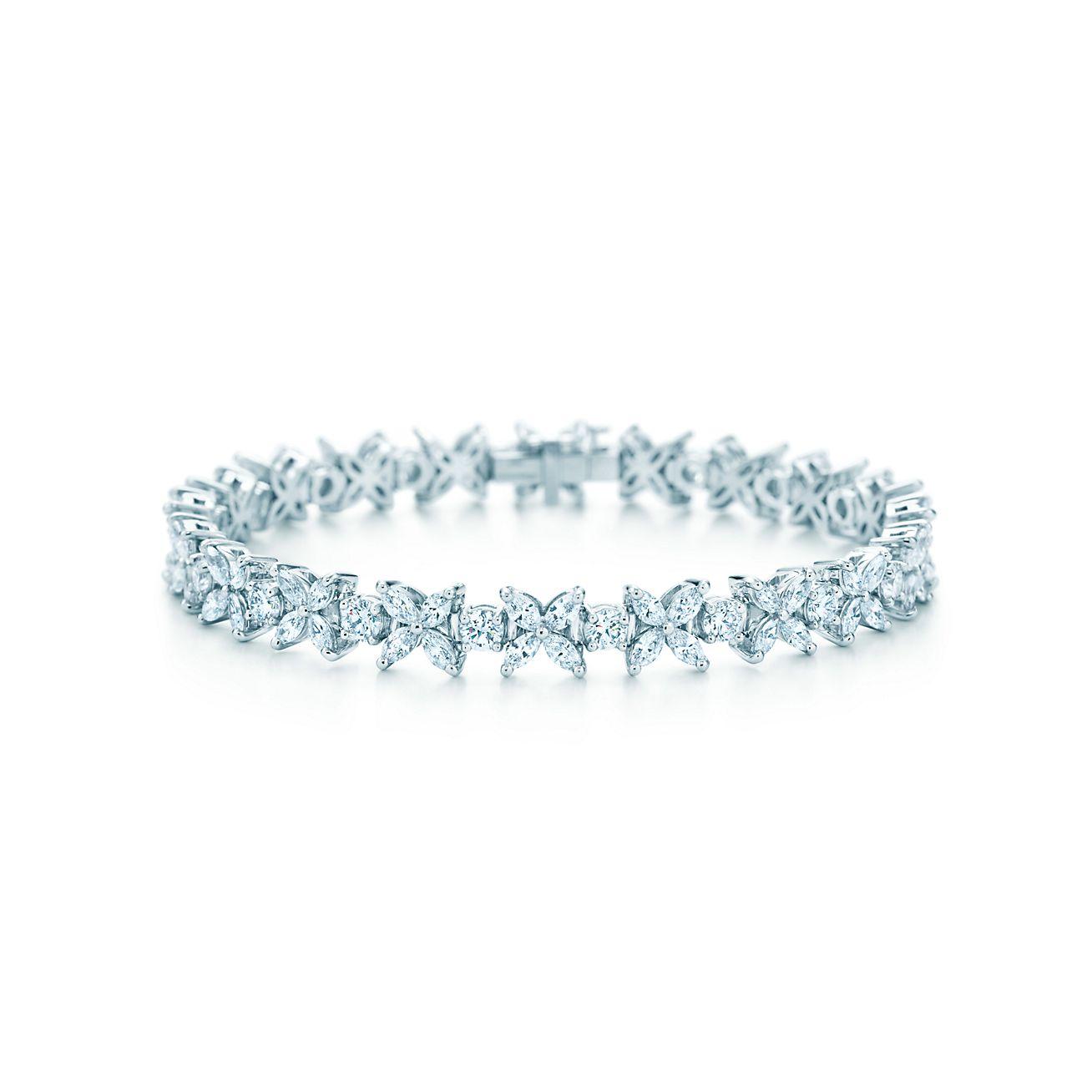 Браслет тиффани с бриллиантом