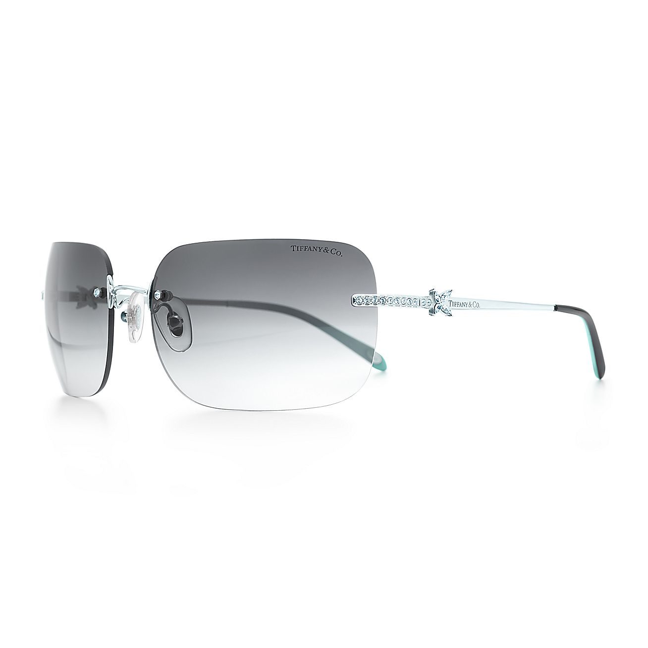 Tiffany Victoria™:Rimless Sunglasses