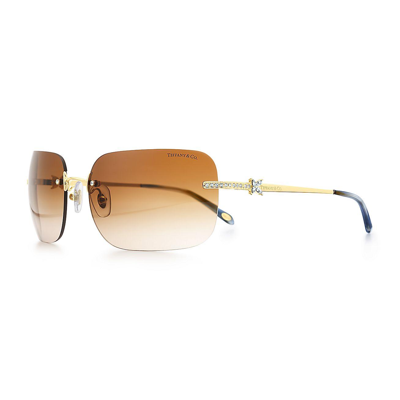 Tiffany Victoria™:Rimless Sunglasses