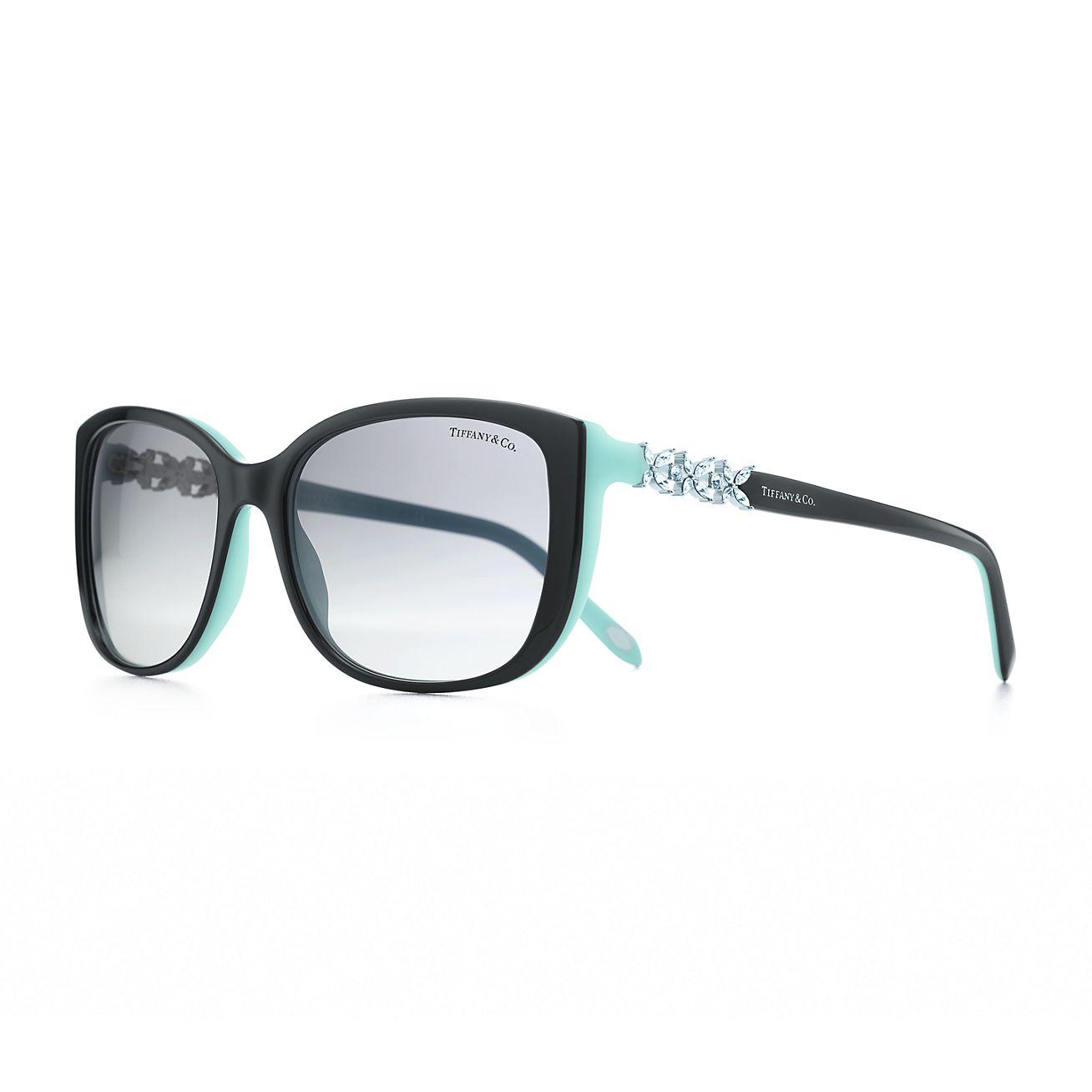 Tiffany Victoria™ square sunglasses in acetate with ...