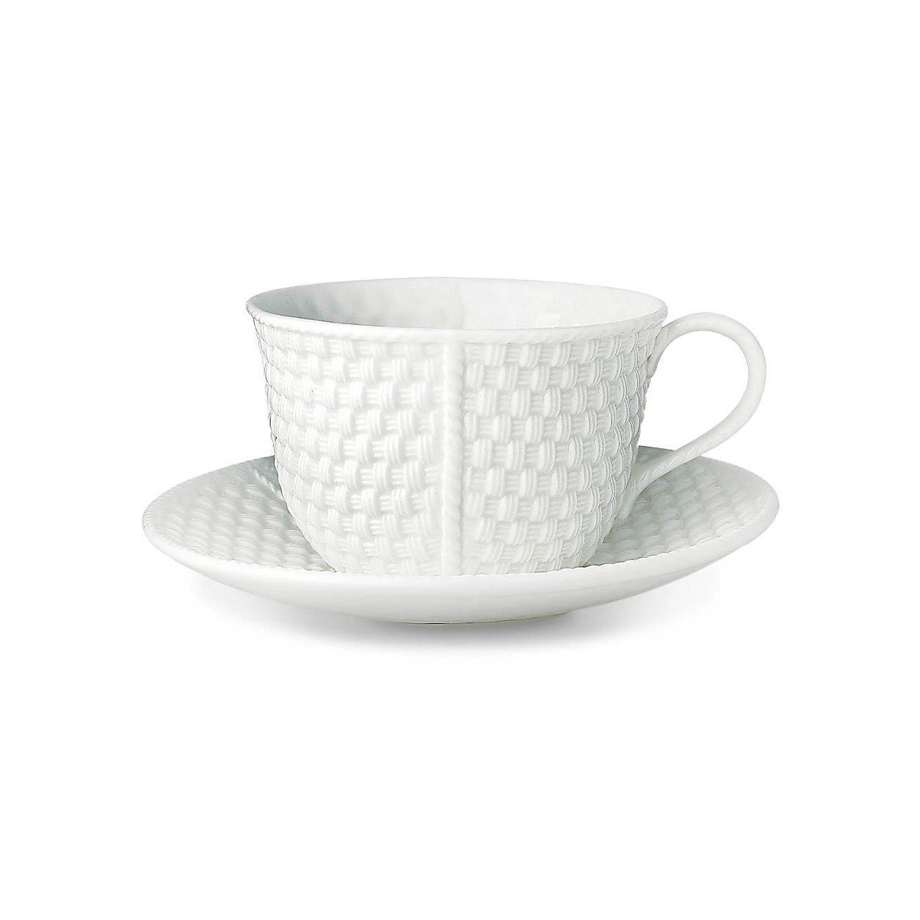 Tiffany Weave:Breakfast Cup and Saucer