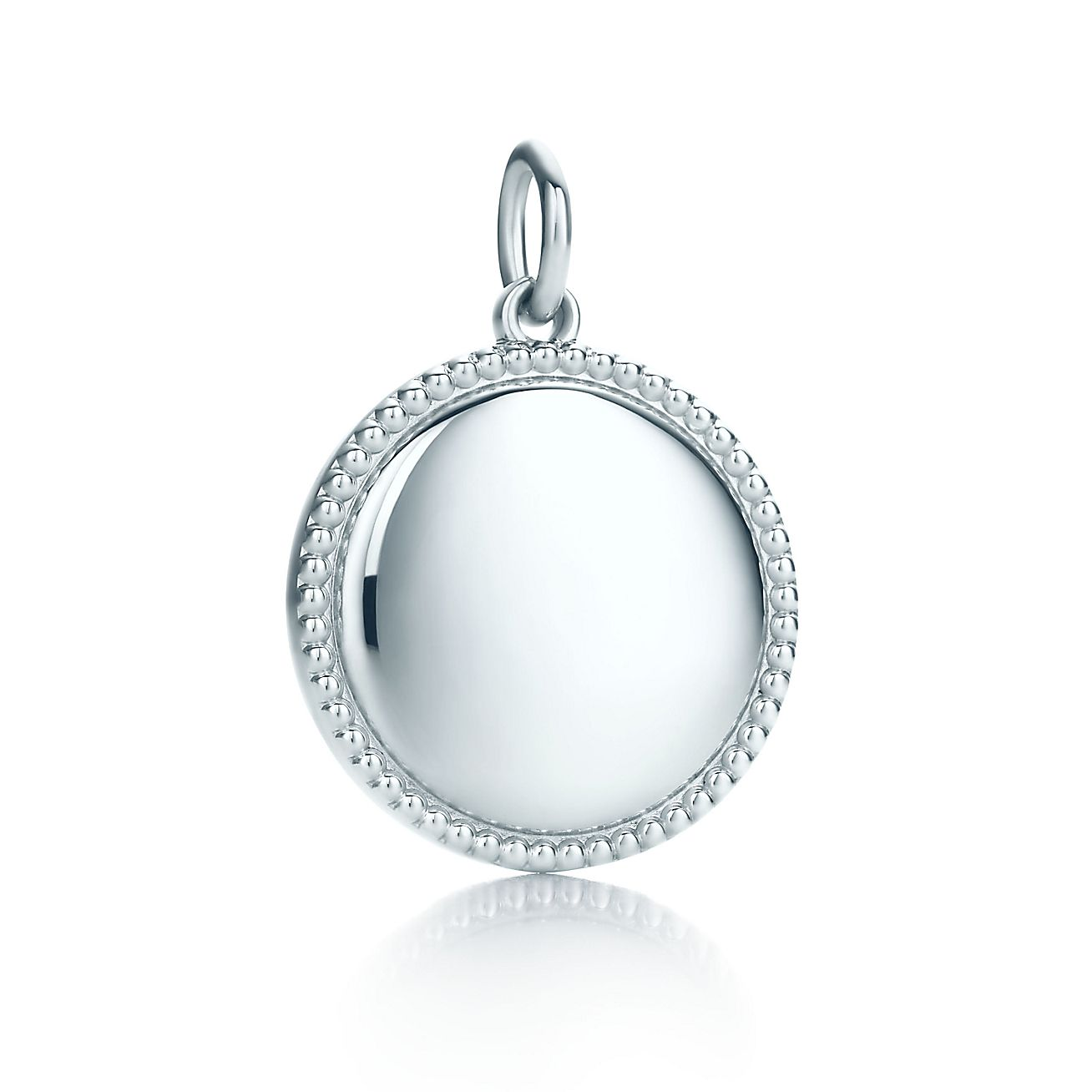 Tiffany Yours<br>round charm
