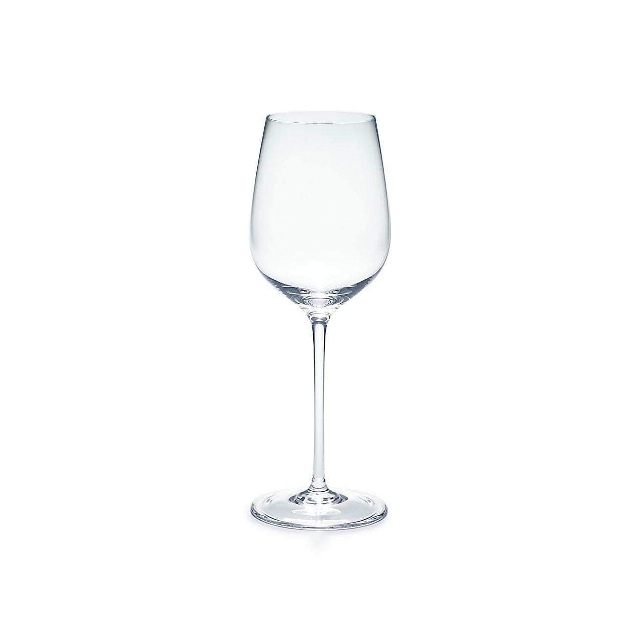 All Purpose White Wine Glass In Handblown Crystal
