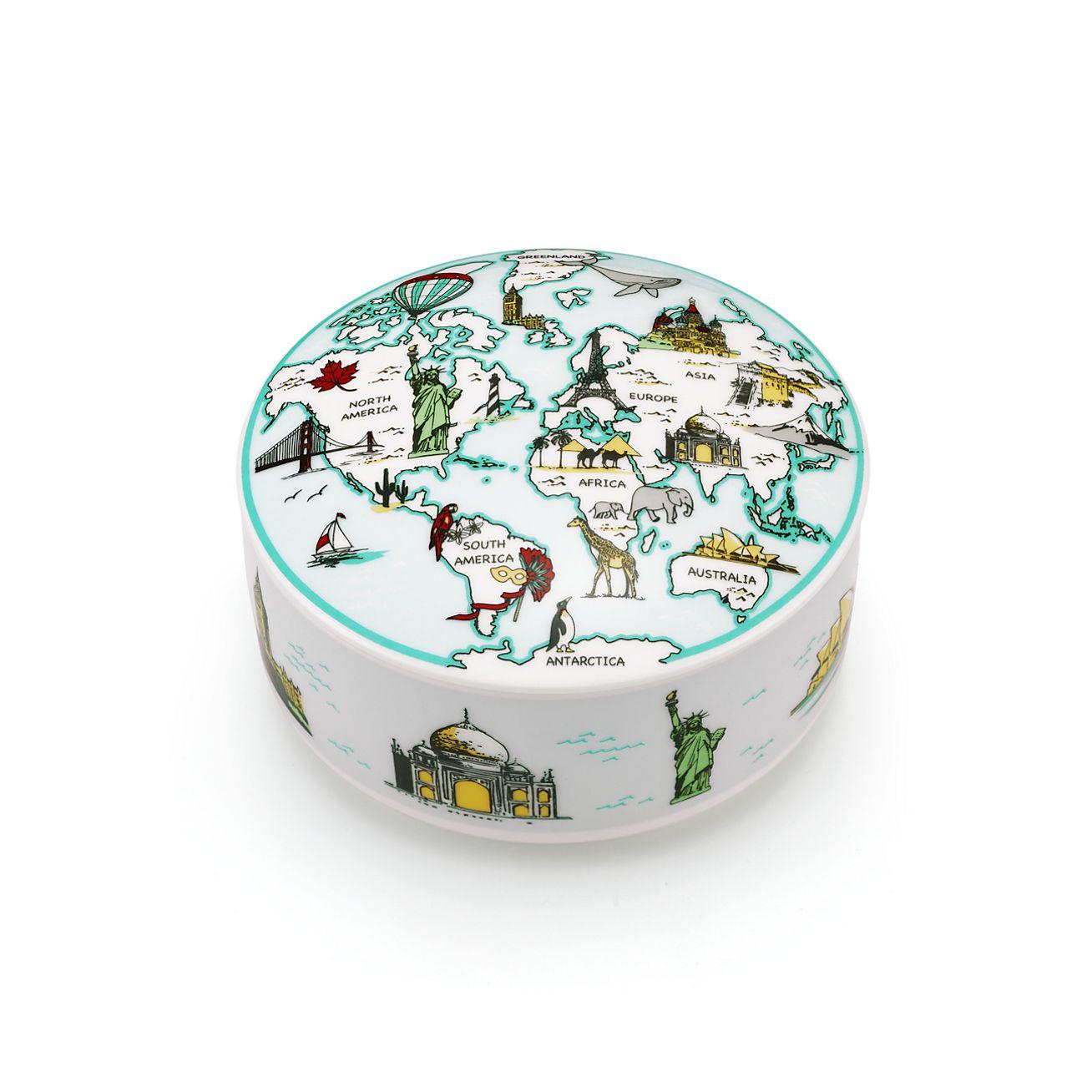 World Box In Porcelain Tiffany Amp Co