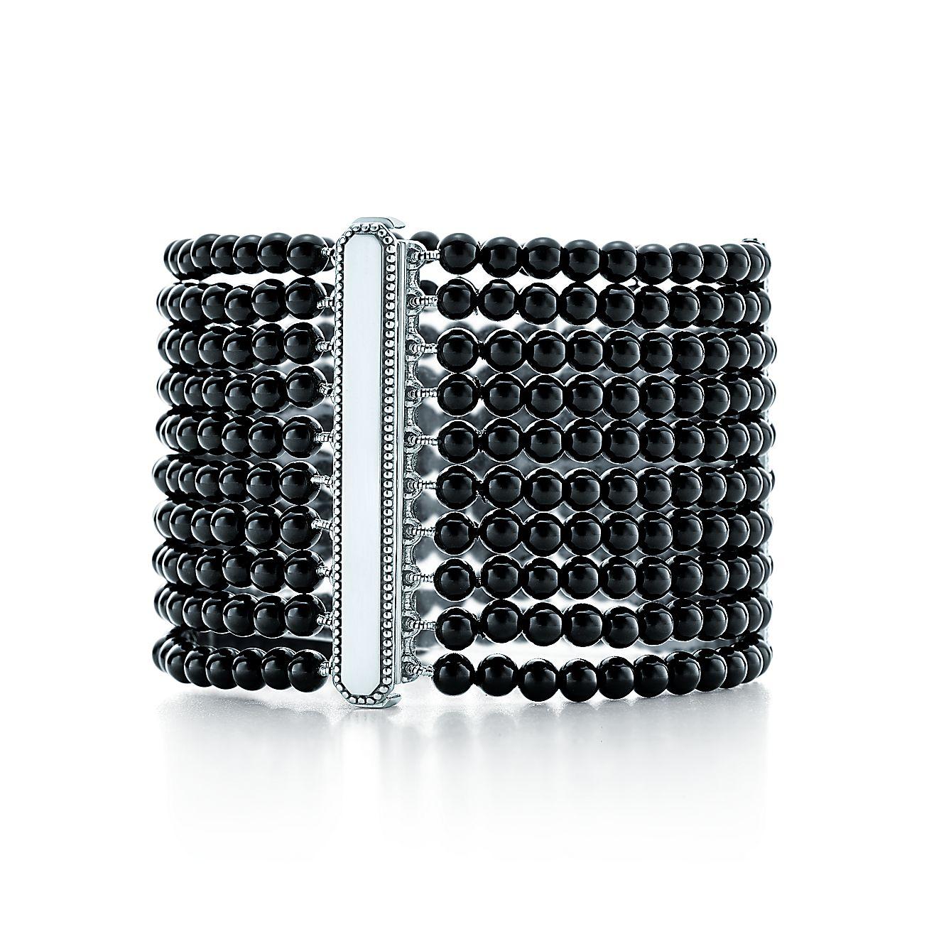 Ziegfeld Collection:Black Onyx Bracelet