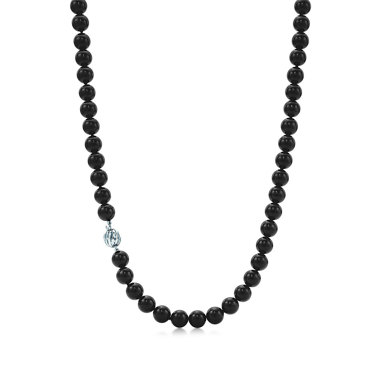 Ziegfeld Collection:Black Onyx Necklace