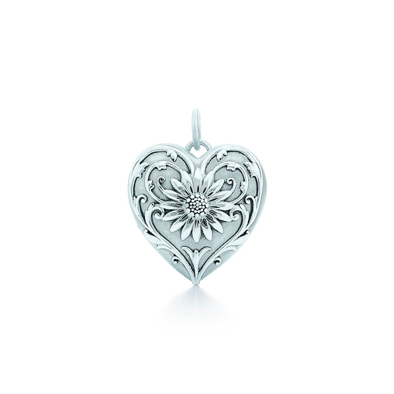 Ziegfeld Collection Daisy Locket In Sterling Silver