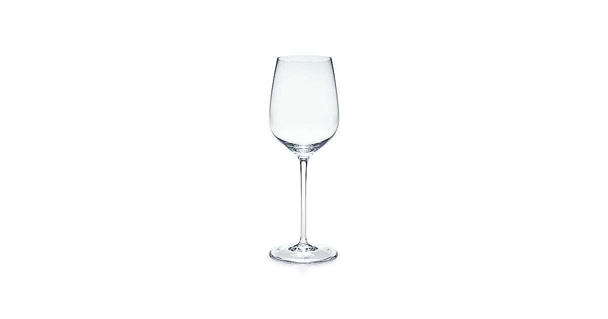 All Purpose White Wine Glass In Handmade Mouth Blown