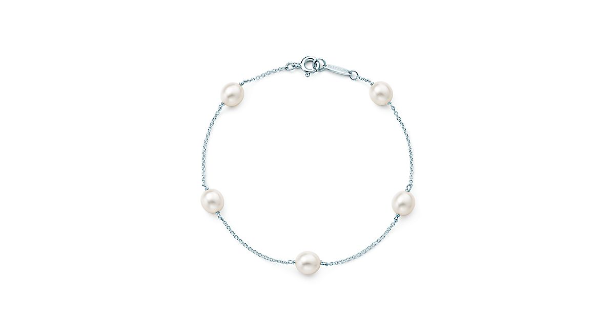 Elsa Peretti 174 Pearls By The Yard Bracelet In Sterling