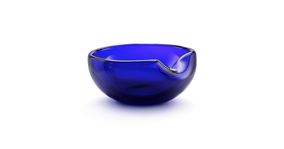 Elsa Peretti 174 Thumbprint Bowl In Handmade Mouth Blown