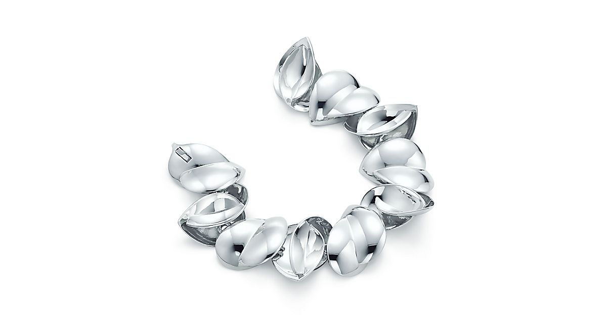 Frank Gehry Hearts Bracelet In Sterling Silver Tiffany