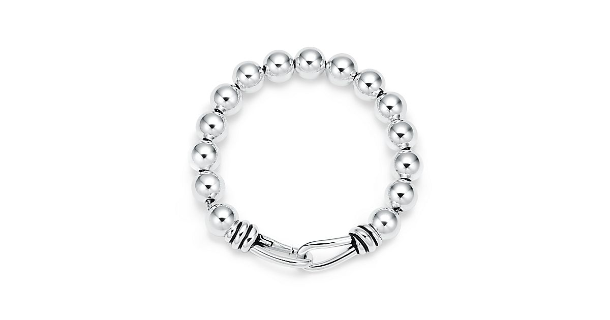 Paloma Picasso® Knot bead bracelet in sterling silver