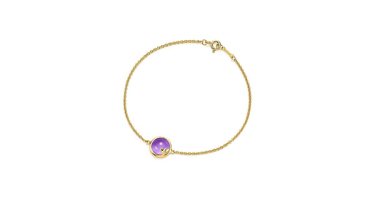 Paloma Picasso 174 Olive Leaf Bracelet In 18k Gold With An