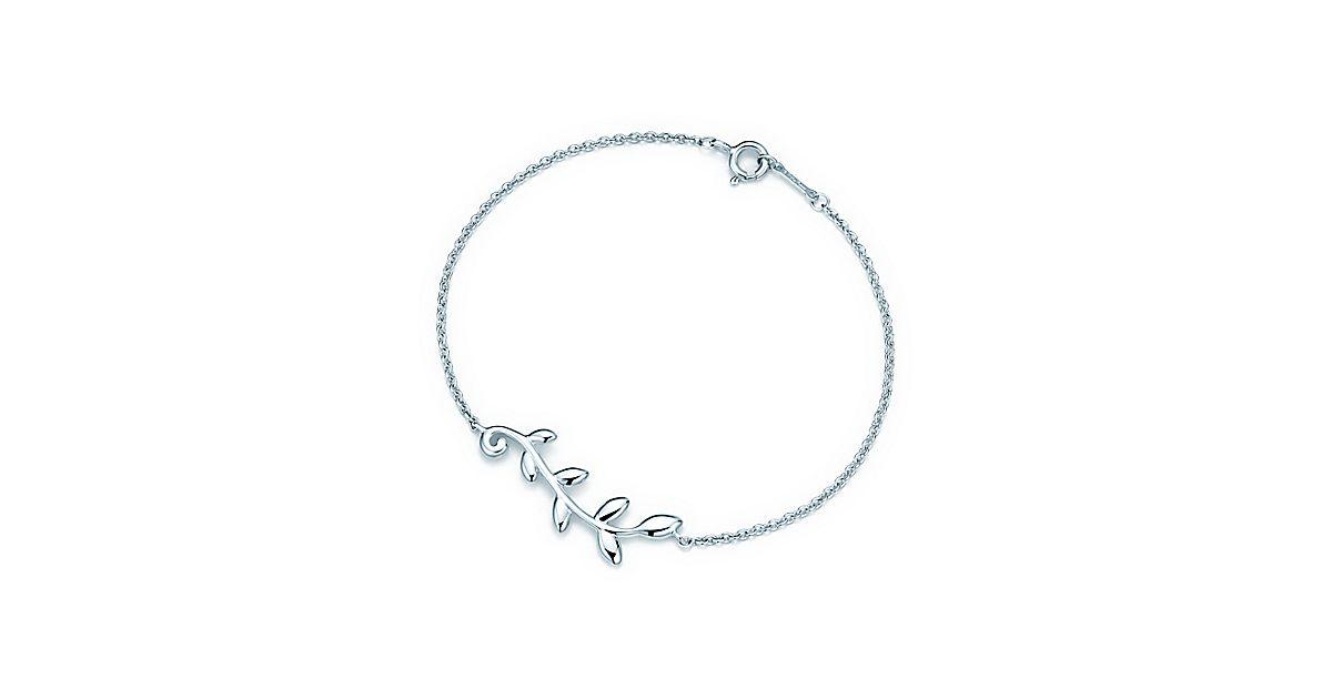 Paloma Picasso 174 Olive Leaf Vine Bracelet In Sterling