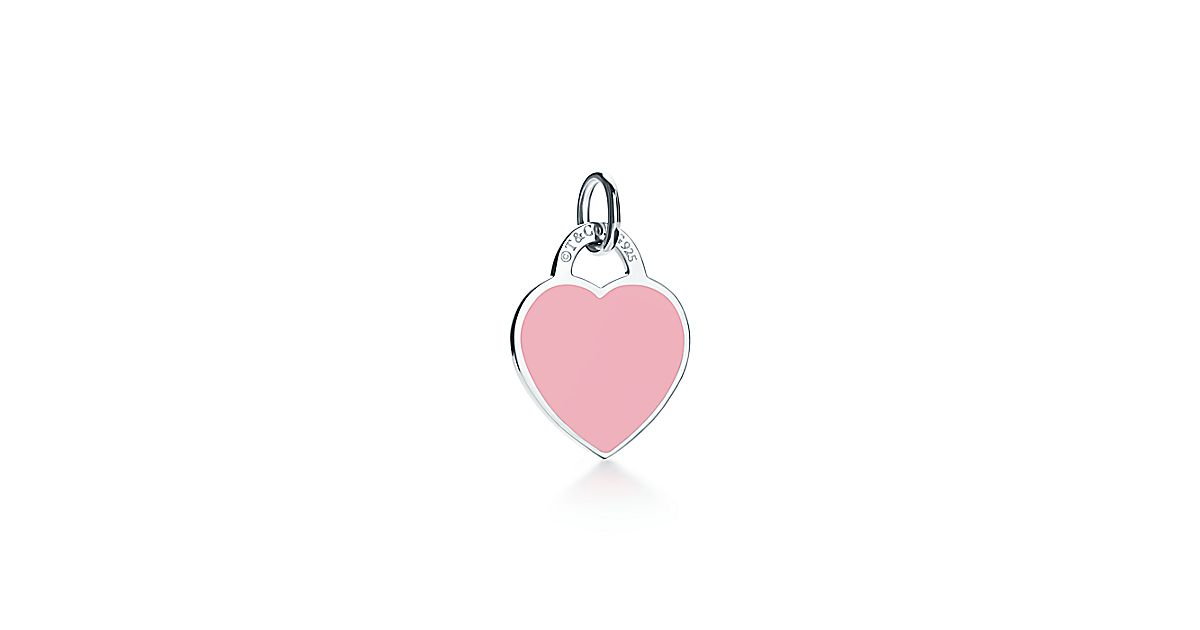 Return To Tiffany 174 Heart Tag Charm In Sterling Silver And
