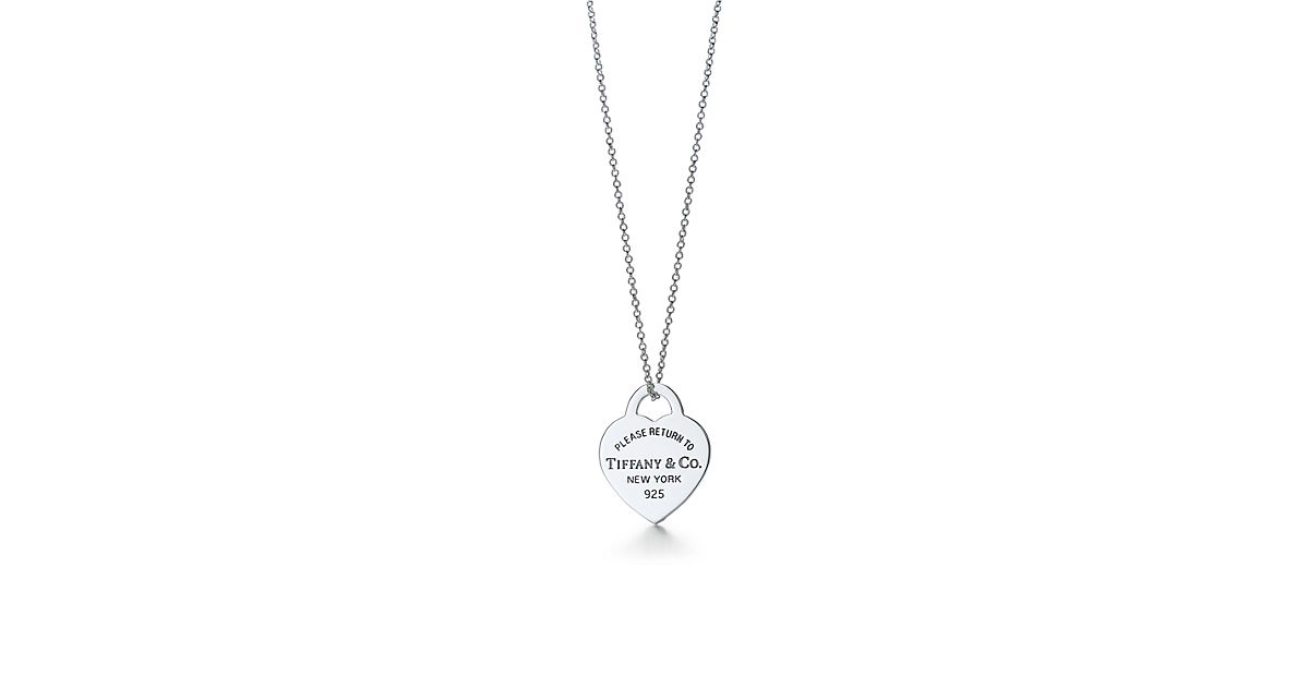 Return to tiffany heart tag pendant in sterling silver tiffany return to tiffany heart tag pendant in sterling silver tiffany co mozeypictures Images
