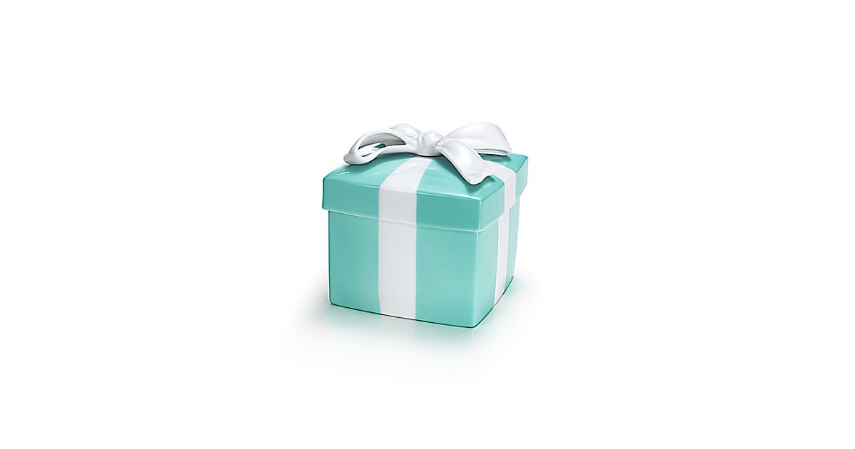 Tiffany Blue Box in porcelain, large. | Tiffany & Co.