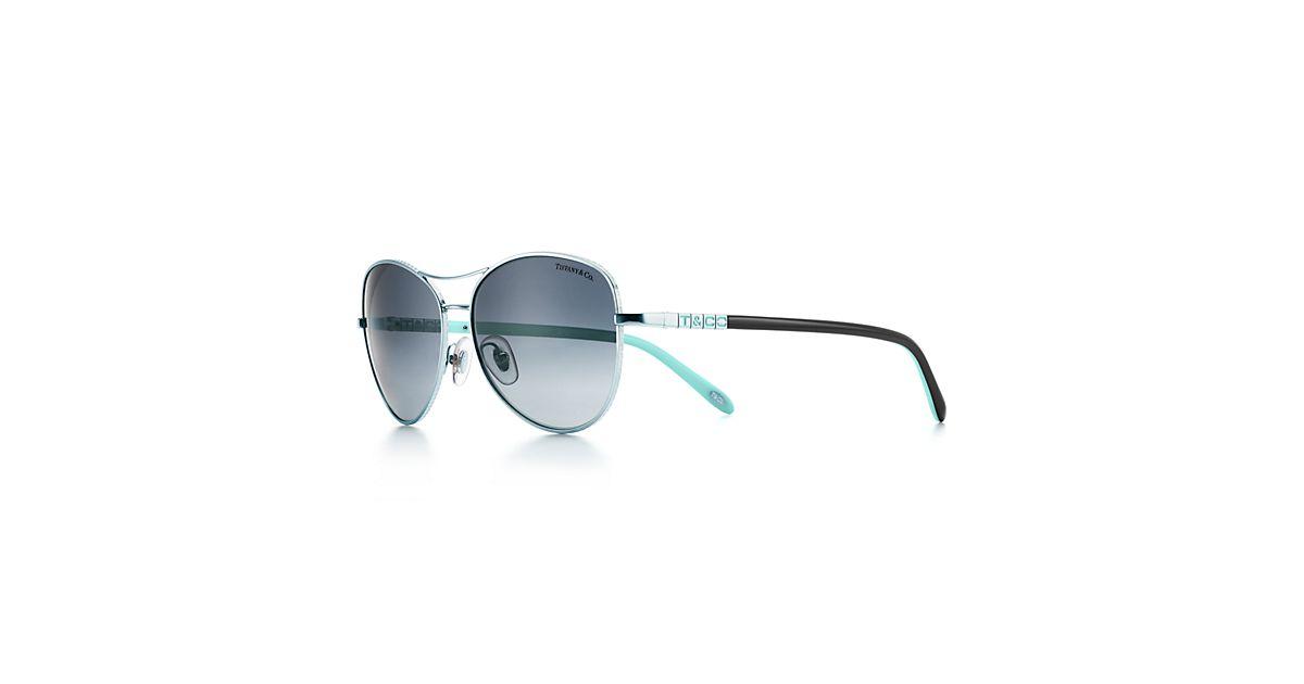 b7029998b1c4 Tiffany Locks Aviator Sunglasses Silver