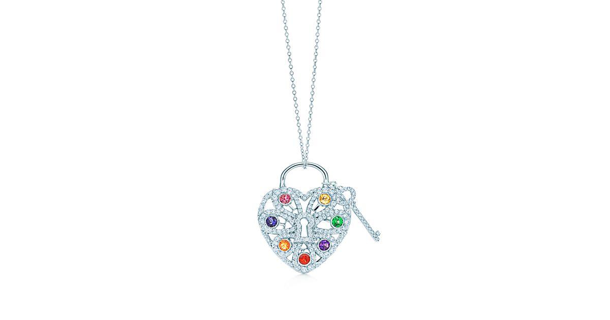 Tiffany co. white gold earrings for women 2017