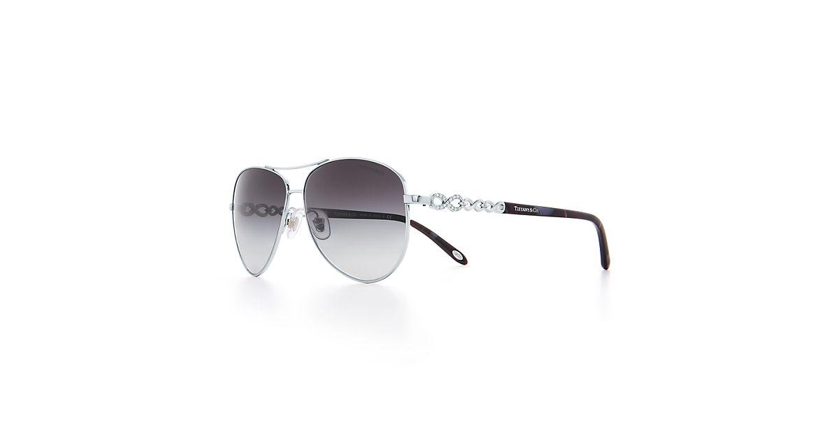 898e9330fa7a Tiffany Aviator Sunglasses Silver