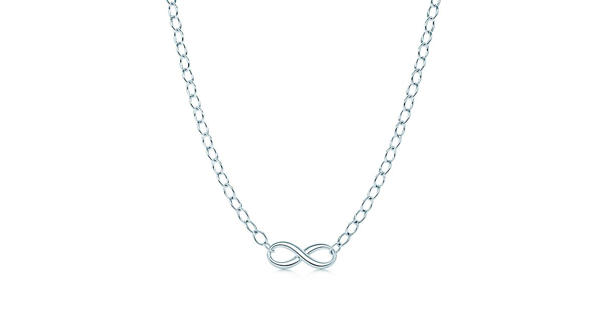 Tiffany Infinity Necklace In Sterling Silver Tiffany Amp Co