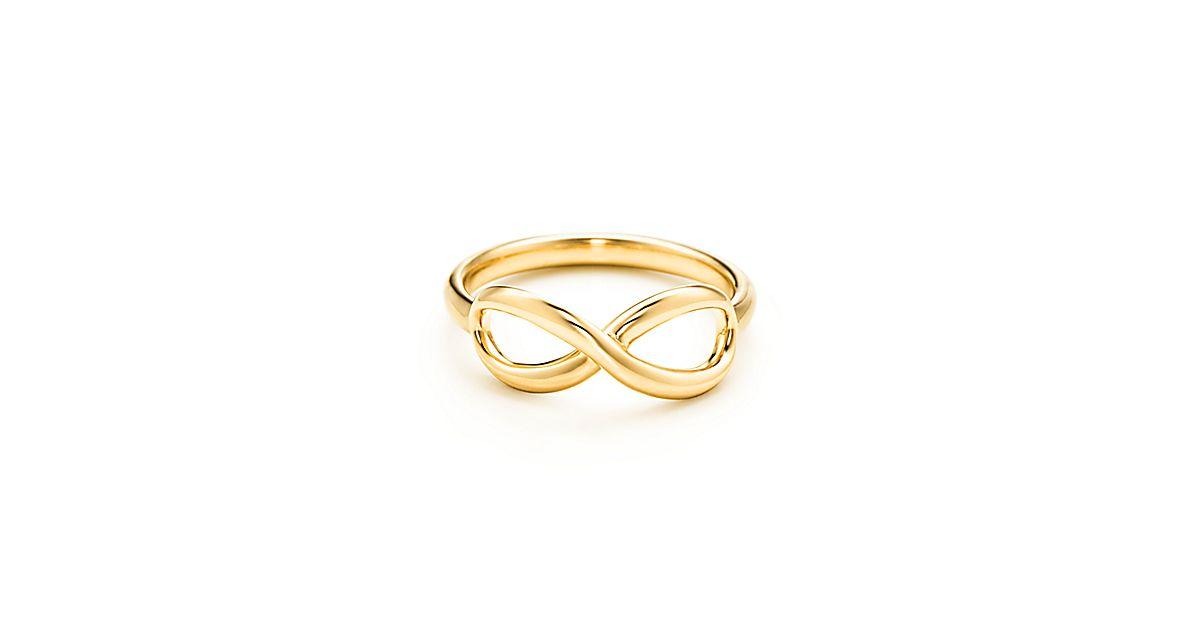 tiffany infinity ring in 18 karat gold tiffany co. Black Bedroom Furniture Sets. Home Design Ideas