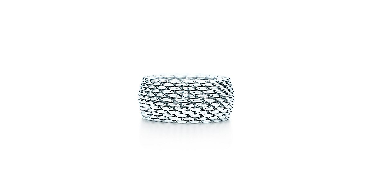 tiffany somerset ring aus sterlingsilber breit tiffany co. Black Bedroom Furniture Sets. Home Design Ideas