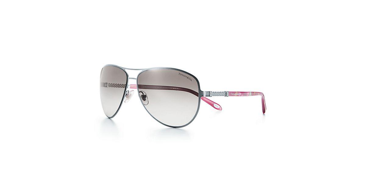 5c4fec66571e Tiffany And Co Aviator Sunglasses