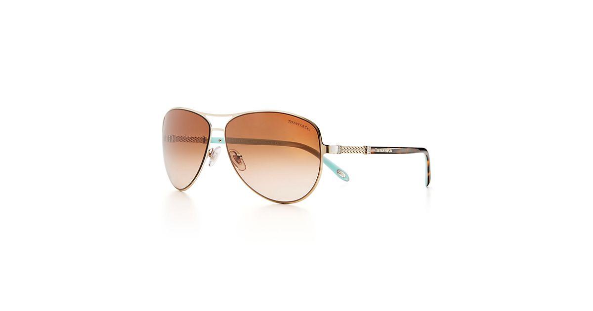 a0681d70f55a Return To Tiffany Aviator Sunglasses