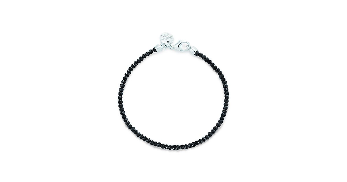 Ziegfeld Collection Bracelet In Sterling Silver With Black