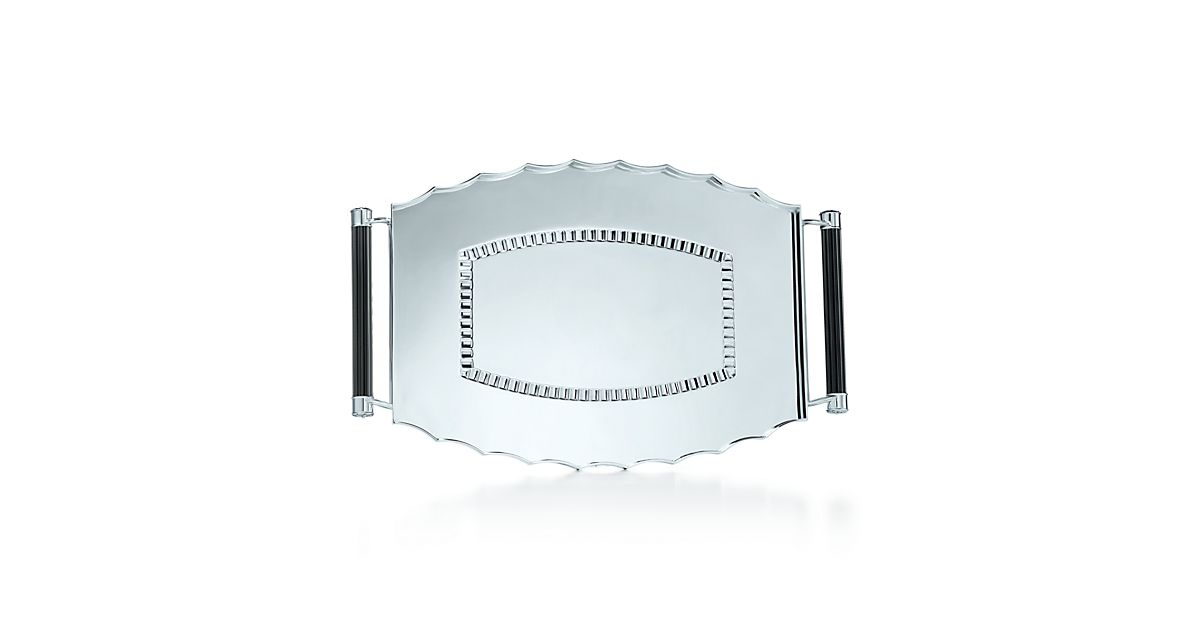 Ziegfeld Collection Vanity Tray In Sterling Silver. | Tiffany & Co.