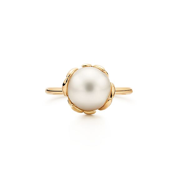 Paloma Picasso 174 Olive Leaf Ring In 18k Gold With A